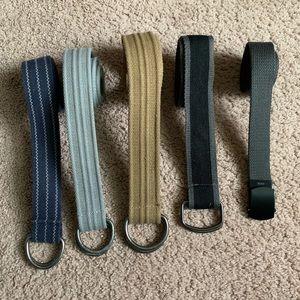 Other - 5 Men's soft belts